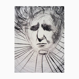 Salvador DALI : David Ben-Gourion - Gravure Originale Signée et Numérotée