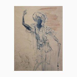 "Salvador DALI - Shakespeare ""Othello"", original signed engraving"