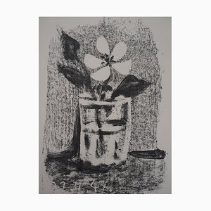 Pablo PICASSO - Flowers in a glass, 1947, original lithograph