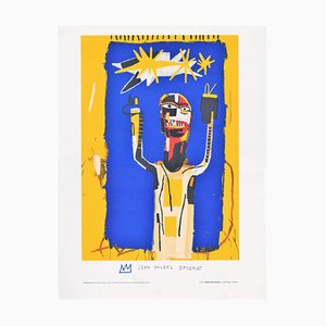 Jean Michel Basquiat (after) - Welcoming Jeers - Lithograph