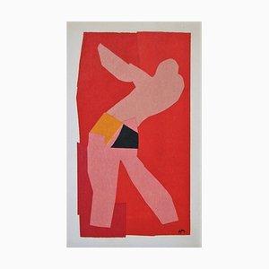 HENRI MATISSE (nachher) - Der kleine Tänzer, 1947 - Lithographie in Farben