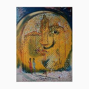 DALI Salvador : Sol y Dali - original signed lithograph Mourlot 1967