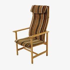 Chaise à Haut Dossier par Børge Mogensen pour Federicia, 1960s