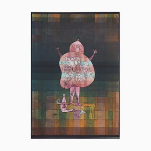 Ventriloquist Shouting in the Swamp Lithograph and Stencil Paul Klee, 1964