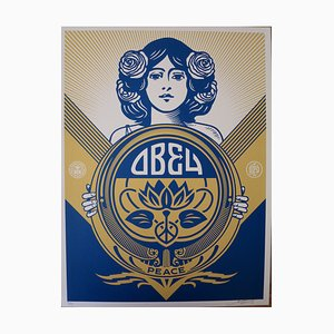 Holiday Silkscreen by Shepard Fairey (Obey), 2016