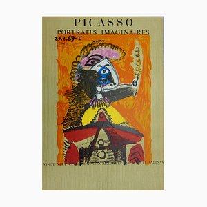 Imaginary Portrait, Man with a Sword Lithographie von Pablo Picasso