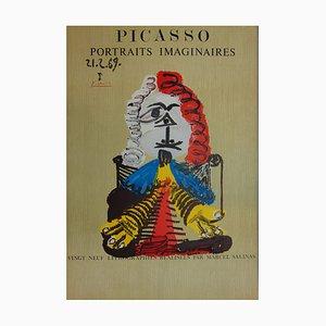 Imaginary Portrait, Elegant Man Lithograph by Pablo Picasso