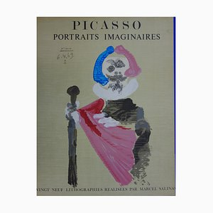 Imaginary Portrait, The Bâtonnier Lithograph by Pablo Picasso