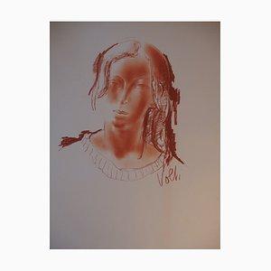 Disegno Woman's Head di Antoniucci Volti