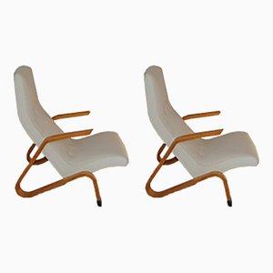 Grasshopper Chairs von Eero Saarinen für Knoll International, 2er Set