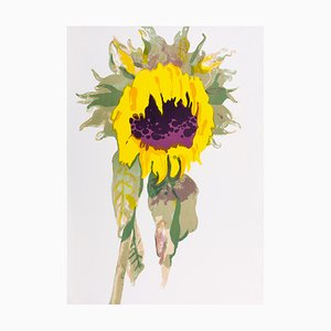 Le Tournesol Lithograph by Françoise Petrovitch, 2017