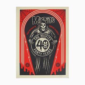 Litografia The Misfits di Shepard Fairey
