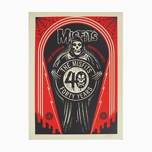 The Misfits Lithograph by Shepard Fairey