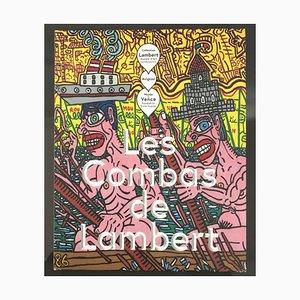 Disegno in Marker di Robert Combas