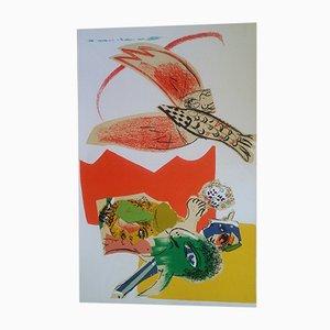 Litografía Dream Circus de Marc Chagall, 1966