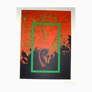 La Otra Geometria 5 Lithografie von Cesar Lopez Osornio, 1994