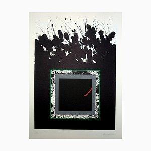 La Otra Geometria 13 Lithograph by Cesar Lopez Osornio, 1994