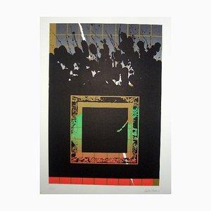 La Otra Geometria 11 Lithograph by Cesar Lopez Osornio, 1994