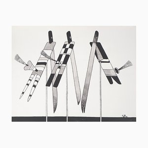 Three birds by Charles Le Bars