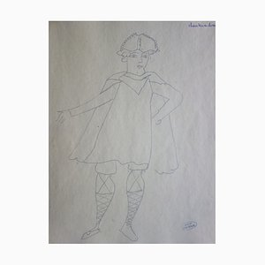 Knight Drawing by André Derain