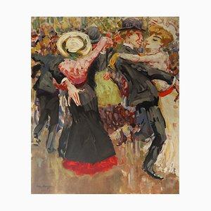 Dance at the Moulin de la Galette Lithograph by Kees Van Dongen