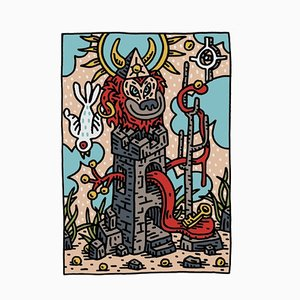 The Tower Print by Speedy Graphito