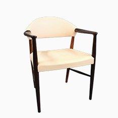 Palisander Armlehnstuhl von Kurt Olsen, 1960er
