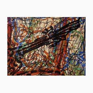 Litografia Abstract Composition di Jean-Paul Riopelle