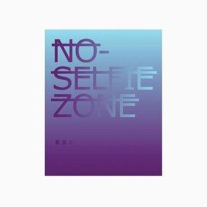 Impression Giclée No Selfie Zone par Rero, 2018