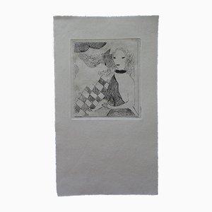 The Fan Engravings by Marie Laurencin, Set of 10
