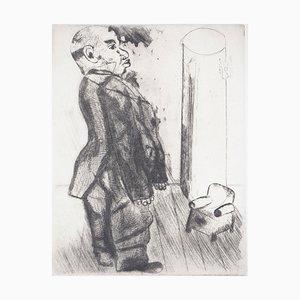 Gravure Sobakevitch Near the Armchair par Marc Chagall, 1948