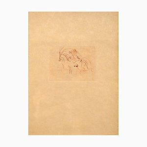 Les Amours De Cassandre Drypoint par Salvador Dali