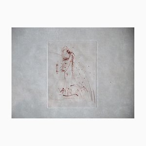 Les Amours De Cassandre Etching by Salvador Dali
