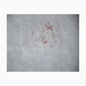 Les Amours De Cassandre Drypoint von Salvador Dali