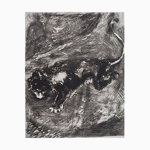 The Horse and the Donkey Engraving by Marc Chagall, 1952