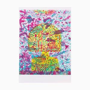 Femme Aquarium Lithographie von Brecht Evens, 2017