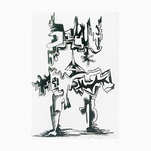 The Revolution Lithograph by Ossip Zadkine