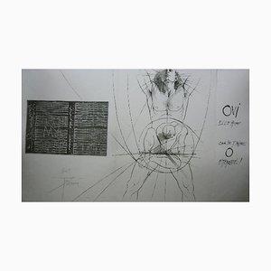 Ecce Homo Radierung von Pierre-Yves Tremois
