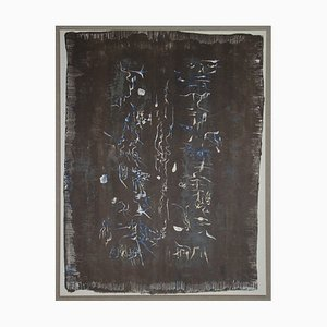 Composition Lithografie von Zao Wou-Ki, 1958