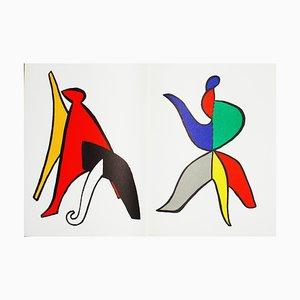 Litografia Derrière le Miroir Calder (11) di Alexandre Calder