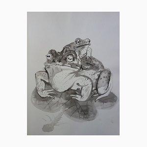 Frösche Zeichnung von Pierre-Yves Tremois