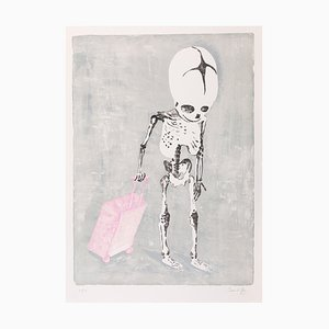 No Home Lithograph by James Rielly, 2017