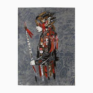 Prefab 77, Loyal to none, 2018, hand-signed lithograph