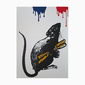 Blek le Rat - Rat N°5, 2019, Signed screen print