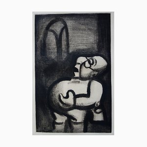 A Strange Littleman Engraving by Georges Rouault, 1928