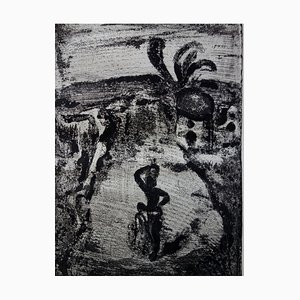Fruit Picking Etching by Georges Rouault