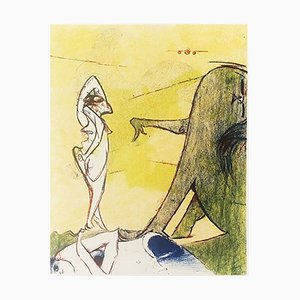 Tribute to Max Ernst Lithograph by Dorothea Tanning
