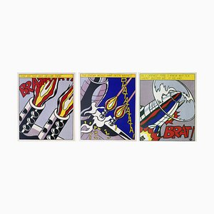 As I Opened Fire Lithograph Reprint by Roy Lichtenstein