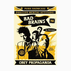 Bad Brains Punk Showcase Rock For Light Lithograph by Shepard Fairey