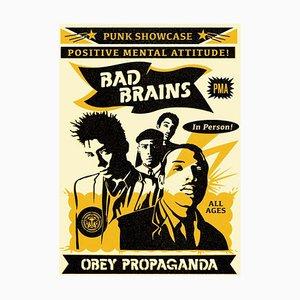 Bad Brains Punk Vitrine Rock For Light Lithografie von Shepard Fairey